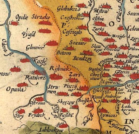 Historia Rybnika – kalendarium